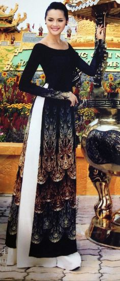 Others Modern Ao Dai MD288