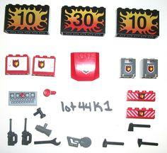 Lego Radio Control set 5599 Fire Rescue 6213 Sticker Chain Saw Cabinet 7208 4209 #LEGO