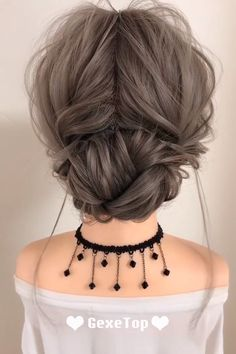 Super Cute Messy Hairstyle - This adorable hairstyle will complete your everyda. - Super Cute Messy Hairstyle - This adorable hairstyle will complete your everyday looks! Cute Messy Hairstyles, High Ponytail Hairstyles, Twist Braid Hairstyles, Easy Hairstyles For Long Hair, Headband Hairstyles, Hairstyle Short, Simple Hairstyles For Medium Hair, Shoulder Length Hairstyles, Ponytail Haircut