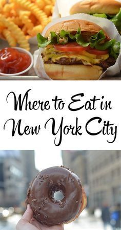 America's Best Eats: New York City Places to travel 2019 My absolute FAVOURITE places to eat in NYC. I have to travel halfway around the world to visit so I only go to the best places – Sweetest Menu New York City Vacation, New York City Travel, America City, North America, Nyc Christmas, Voyage New York, New York Food, I Love Nyc, Best Places To Eat