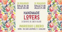 #Handmade Lovers compie un anno e per festeggiare torna il suo mercatino creativo presso l'Exma in via San Lucifero a Cagliari. Quando? Durante il weekend del 20/21 maggio <3  #vivereacagliari #eventicagliari #handmadelovers