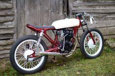 Small Size Customized: Honda CG125 By Frenchmonkeys - GLORIOUS MOTORCYCLES