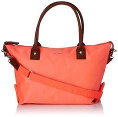 07398bc2bc Paquetage - Borsa Shopping Bandouliere Paco Nylon, Donna, Giallo (Jaune  (Grain)), Taglia unica: Amazon.it: Scarpe e borse
