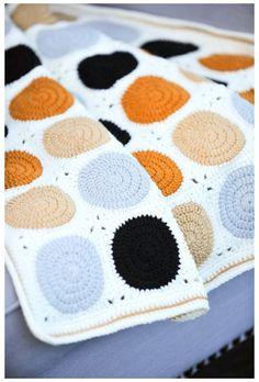 Granny Square Häkelanleitung, Granny Square Crochet Pattern, Crochet Granny, Granny Squares, Crochet Patterns, Baby Granny Square Blanket, Afghan Crochet, Modern Crochet Blanket, Crochet Baby Blanket Beginner