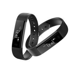 >> Click to Buy << smart bracelet 2017 fitness tracker heart rate waterproof Call reminder exercise waterproof meter step #Affiliate