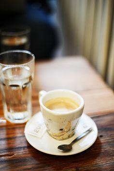 Cappuccino at Kino Europa cafe