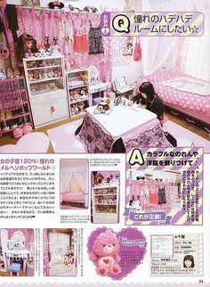 Kawaii teen bedroom