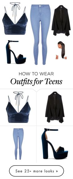"""O"" by junghunsoo on Polyvore featuring New Look and Steve Madden"