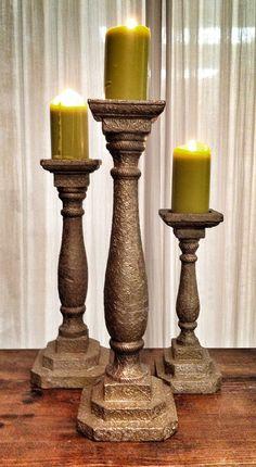 candlestick three sizes (pcs 15)