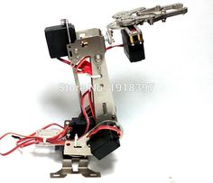 160.20$  Watch here - http://aiu7b.worlditems.win/all/product.php?id=32653084262 - 5 DOF manipulator. Vigorously working robot. abb industrial robot arm. Video presentation. Free fast shipping