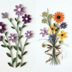 QUILLING -flowers