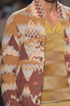 patternprints journal: PRINTS, PATTERNS AND DETAILS FROM RECENT MILAN FASHION WEEK (MENSWEAR SPRING/SUMMER 2015) / Missoni
