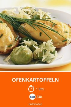 Ofenkartoffeln - smarter - Kalorien: 230 Kcal - Zeit: 1 Std. | eatsmarter.de