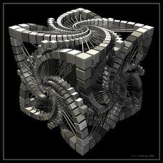 100 imágenes fractales | La belleza matemática