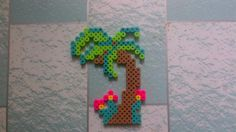 Palm tree perler beads by QuelaC. - Perler® | Gallery