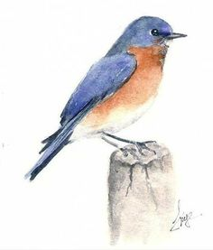 Free mini beginner watercolor lesson on website www.karenfrye.com