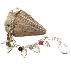 Our bracelet design for the Leaves Inspiration Kit - full instructions are available in the kit