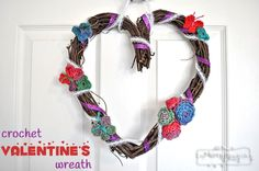 Floral Ribbon Wreath