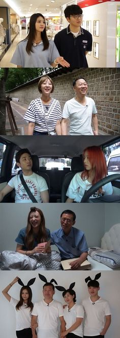 exid's showtime... EXID and family