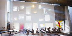 Le Corbusier's Chapel of Notre Dame du Haut, Ronchamp, France; courtesy of Fondation Le Corbusier/2012, ProLitteris Zurich