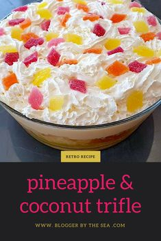 #pineapple #coconut #trifle #recipe #foodblog #easy #yummy #dessert #foodblogger #fruit #trifles #recipes #simple #delicious #pudding #foodbloggers #desserts #puddings #fruity