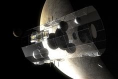 Daedalus Construct - The Daedalus starship would be constructed in orbit around the Jovian moon Europa.