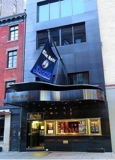 The Blue Note jazz club, 131 West Street, New York City. Blue Note Jazz Club, New York City Vacation, Jazz Bar, Nyc Girl, Nostalgia, My Kind Of Town, I Love Ny, Jazz Blues, Places To Visit