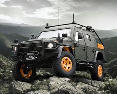1000 images about mobile armor on pinterest knight for Mercedes benz g wagon lapv 6 x