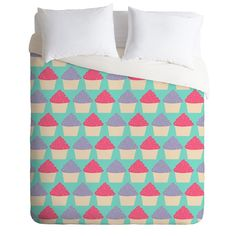 Allyson Johnson Cutest Cupcakes Duvet Cover | DENY Designs Home Accessories