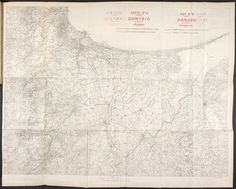 Danzig map from the treaty The Bolsheviks, Danzig, Wwi, Southeast Asia