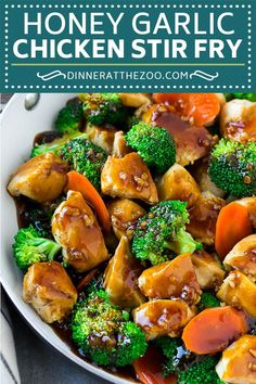 Honey Garlic Chicken Stir Fry | Chicken and Broccoli | Healthy Chicken Recipe | Stir Fry Recipe | Easy Chicken Recipe #chickenrecipe #stirfry #asianfood #healthy #dinneratthezoo #healthychickenstirfry