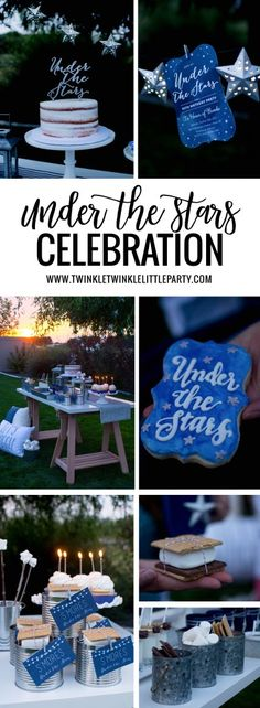 Under the Stars Birthday Celebration