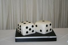 Dice Cake , perfect for a James Bond or Casino themed Party