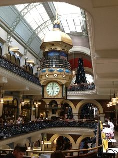 Christmas time at the Queen Victoria Building, Sydney Australia