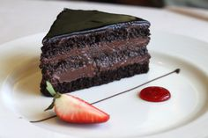 Chocolate Cake from Carnival Cruise Line.