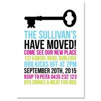 Modern Key Housewarming Invitations - House Warming - Party