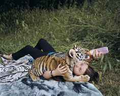 Pin for Later: This Amelia and the Animals Photo Series Demonstrates a True Mother-Daughter Bond  Robin Schwartz, Lorenzo, 2011, from Amelia and the Animals (Aperture, 2014)