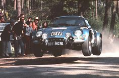 Alpine Renault A110 at full noise.