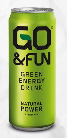 Go&Fun Green Energy Drink Natural Power