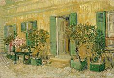 Exterior of a Restaurant at Asnieres - Vincent van Gogh . Created in Paris, France in Summer, Located at Van Gogh Museum Vincent Van Gogh, Dutch Artists, Famous Artists, Desenhos Van Gogh, Henri De Toulouse-lautrec, Van Gogh Arte, Van Gogh Pinturas, Artist Van Gogh, Image Paris