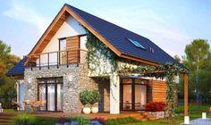 Case mici - ieftine, functionale si eficiente energetic / Casa mica cu fatada cu piatra sursa: http://www.renovat.ro