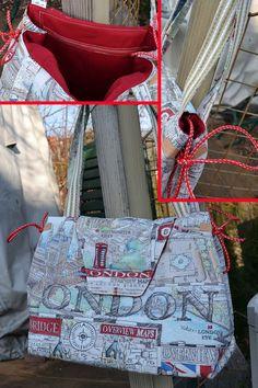 Selbstgemachtes und Kreatives: Citytasche London 2