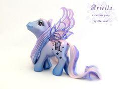 Ariella, a fairy pony by padawanclaramel.deviantart.com on @DeviantArt