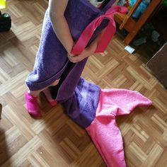 This listing is for one mermaid tail Mermaid towels for kids ages up to 8  Depending upon build of child they are perfect for bath time and fun at the pool and