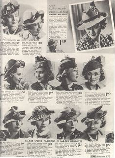 This advertisment is for a French Hat Maker. Description from vintage-ads .livejournal 0a84c66154f1