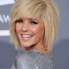 WHEN/IF I ever get married.... This is happening  I live the bangs!!!!! With short layers for my long/medium hair! Perfect!
