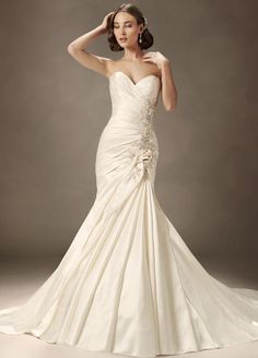 Soft Classic Collection: Sophia Tolli Wedding Dresses Spring 2013. To see more: http://www.modwedding.com/2013/06/02/sophia-tolli-wedding-dresses-spring-2013/ #wedding #weddings #fashion