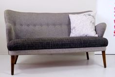 Danish love seat inspired by the 1950's