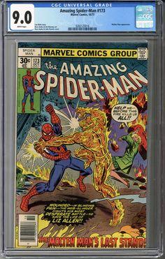 Amazing Spider-man #173 CGC 9.0