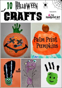 Looking for fun Halloween crafts made with handprints and footprints? Here are 10 spooktacular ideas to get you started.